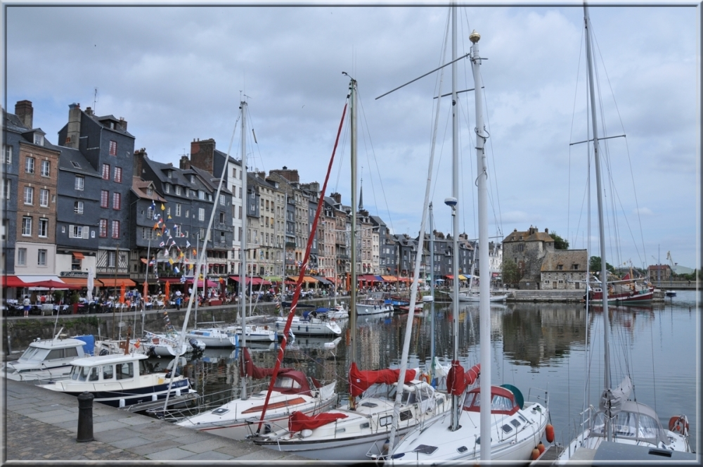 Honfleur (France), tidal dock