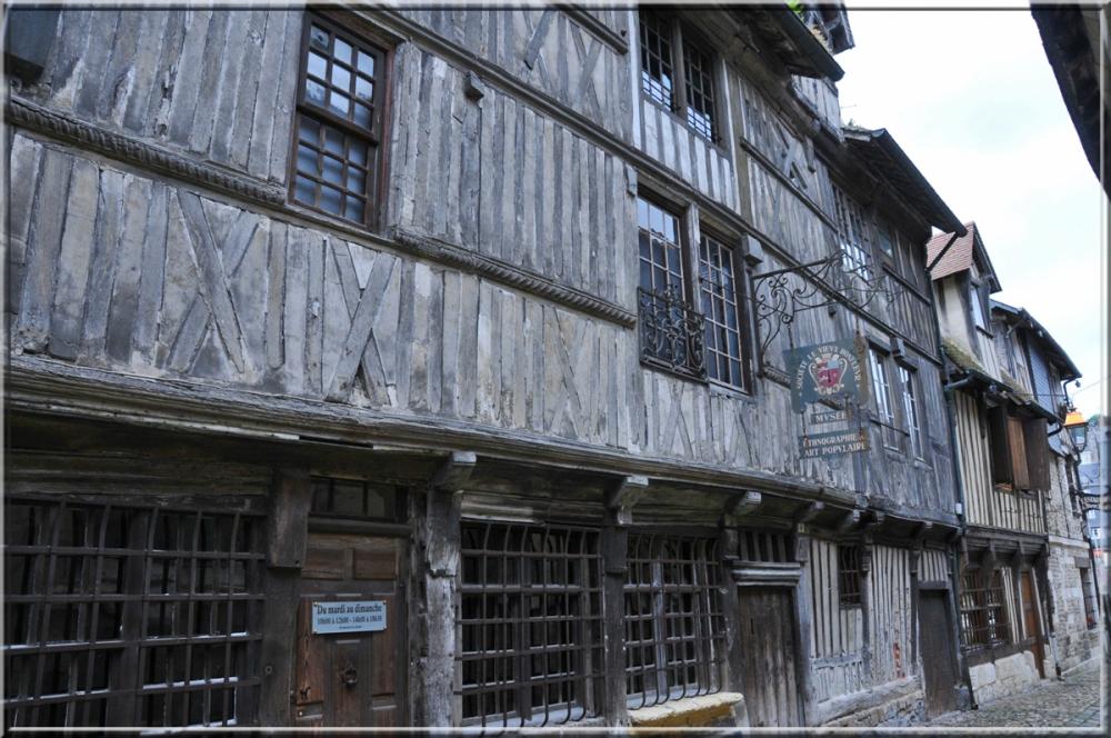 street of Honfleur