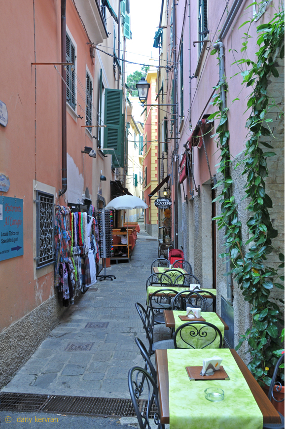 a street of Monterosso (Italy)