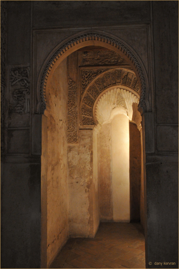 the Mihrab in Nasrid Palaces