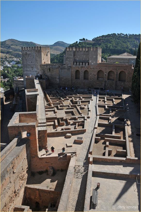 Granada, the Alhambra, the Alcazaba
