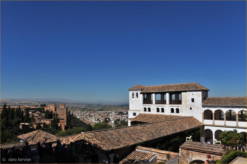 Granada, the Generalife of the Alhambra