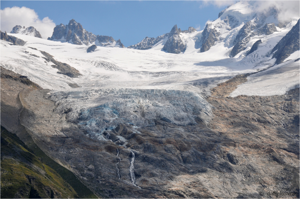 Le Tour glacier  -  glacier du Tour