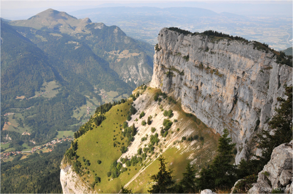rochers de Leschaux à Solaison (Haute-Savoie)