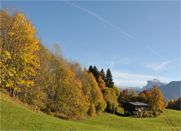 autumns in Samoëns (Haute-Savoie)