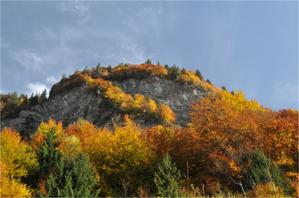 autumns in Haute-Savoie