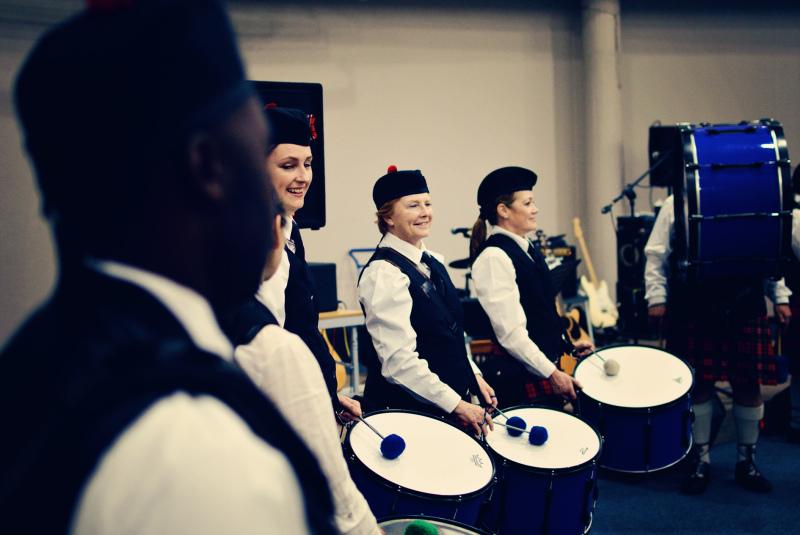 Algoa Caledonian Pipe Band Port Elizabeth Museum