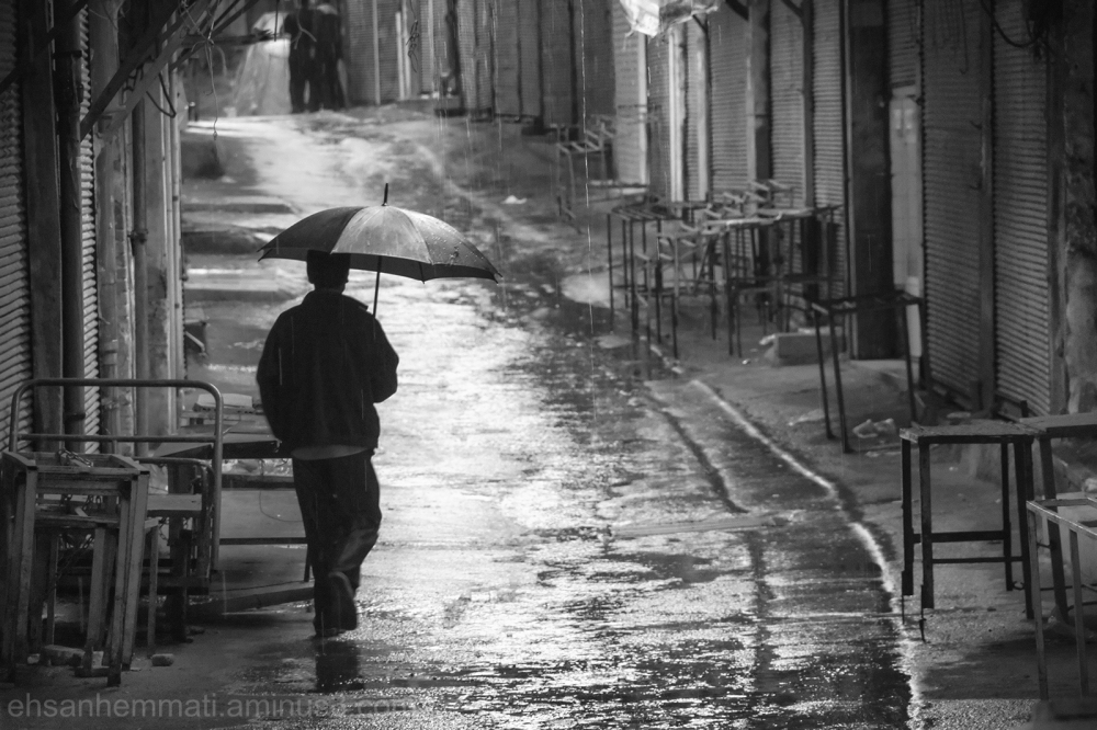 """Man in the Rain"""