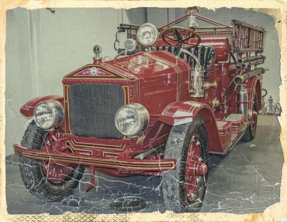 Fire Engine Built 1924