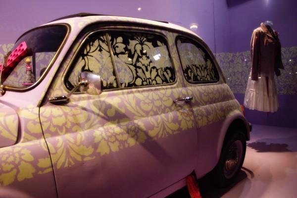 Funky car at Les Galeries Lafayette