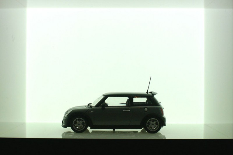 Mini model of the Mini
