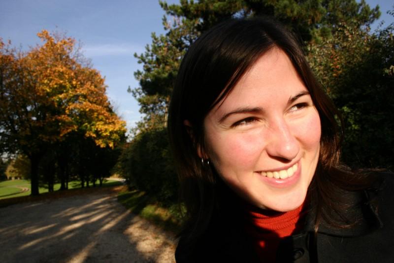 Aurélie in Autumn