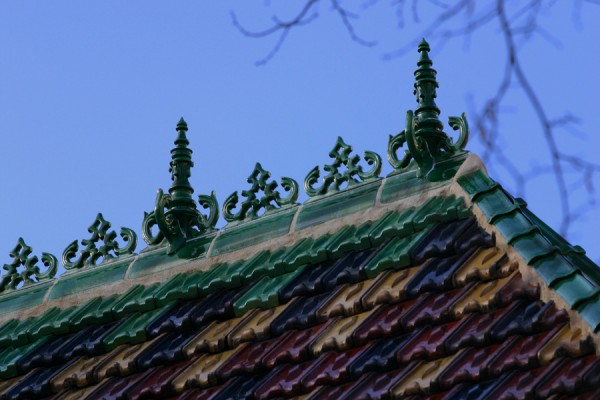 Russian roof tiles
