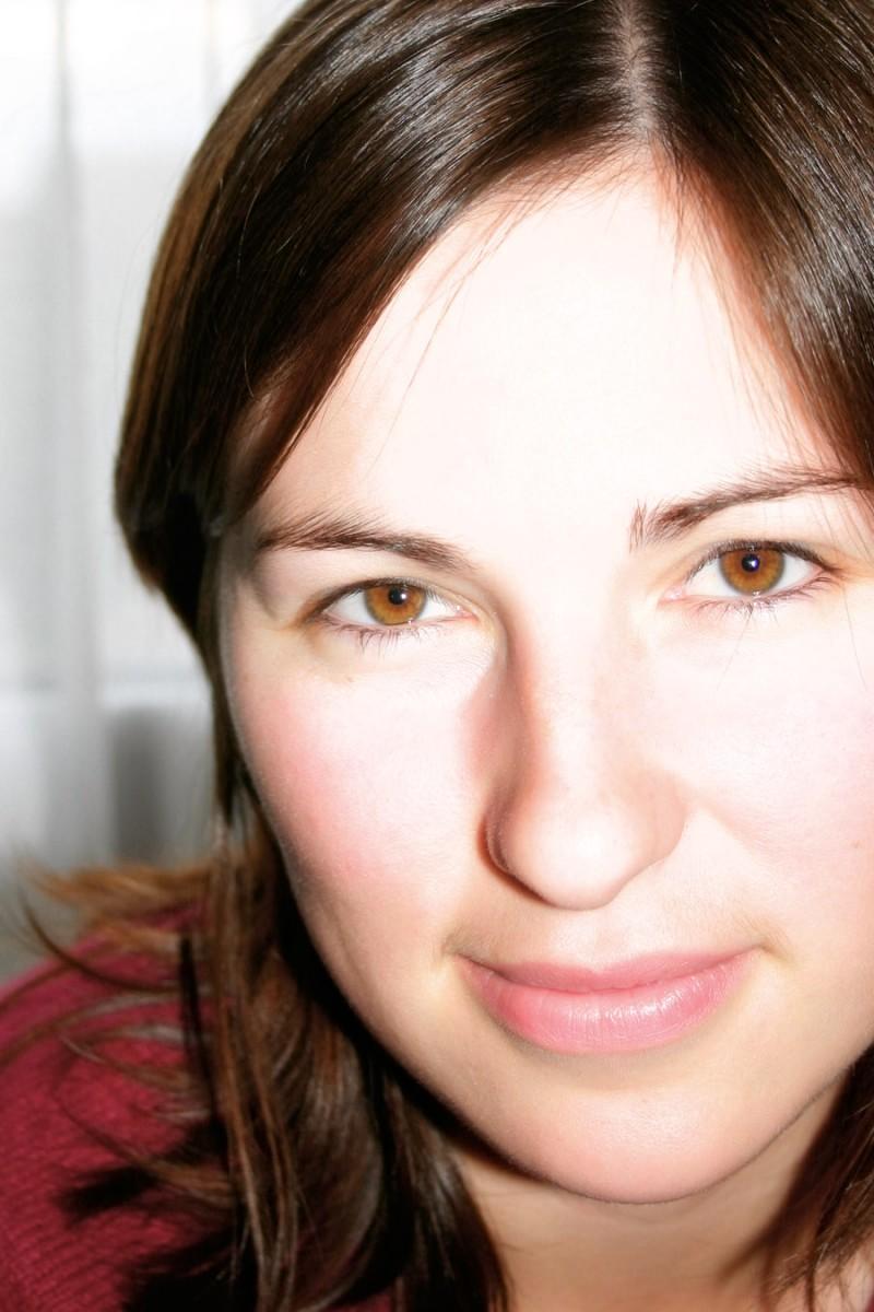 Aurélie in the bedroom