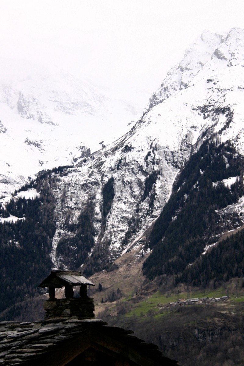 A village in the Alps