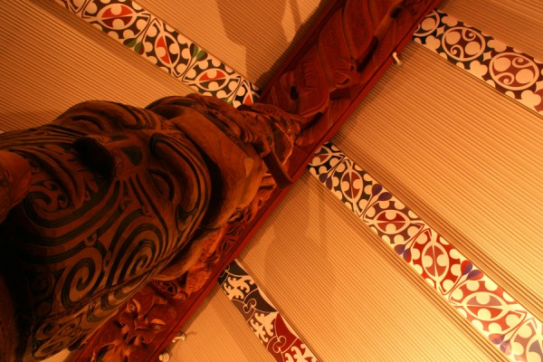 Maori ceiling patterns