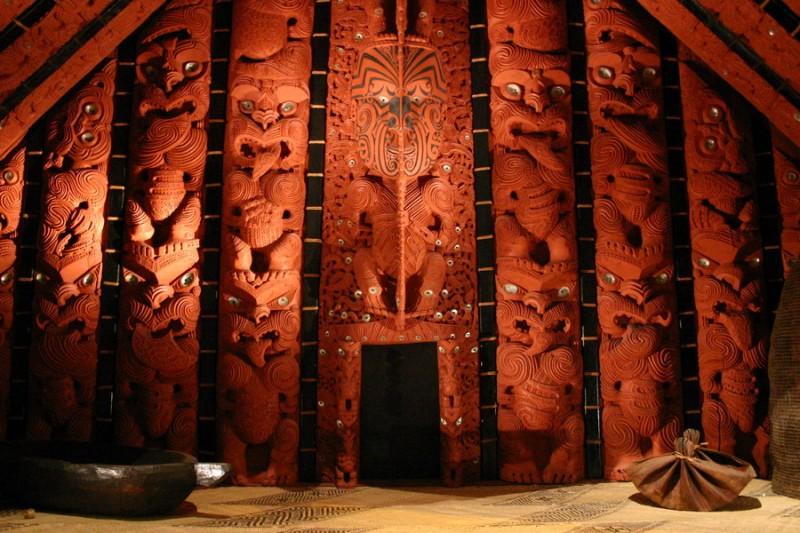 Maori spirit house