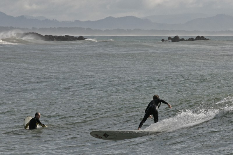 Riding the waves in Tauranga