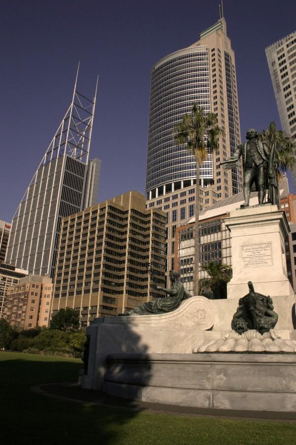 View from Sydney Botantical Gardens