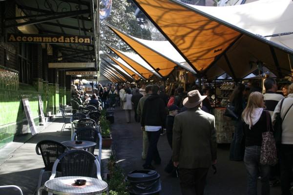 Market in The Rocks