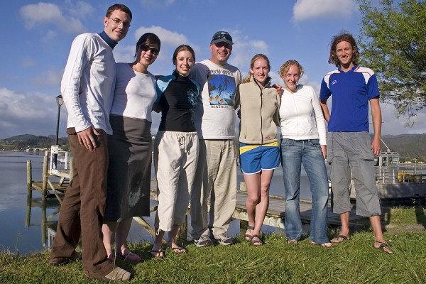 Tairua scuba diving group