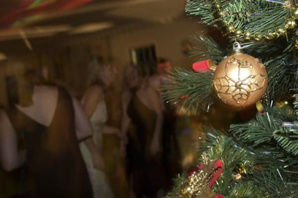 christmas party dance flash