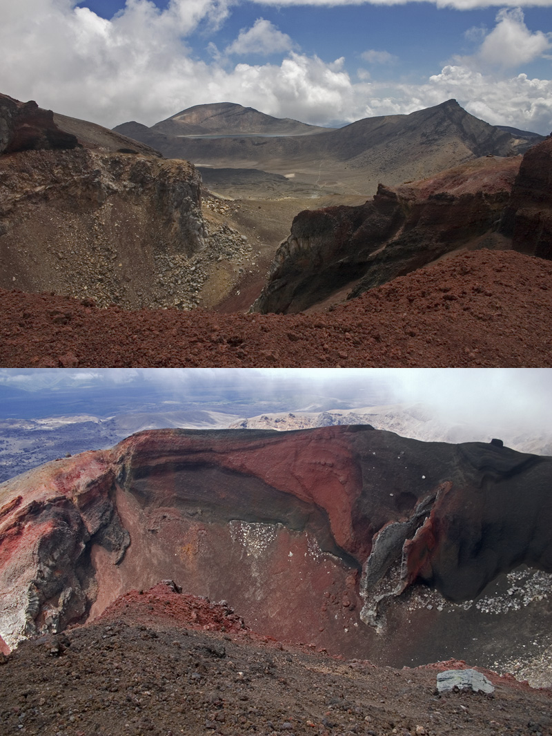 Red Crater, Tongariro Crossing
