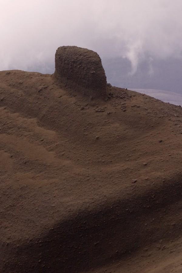 Volcano top