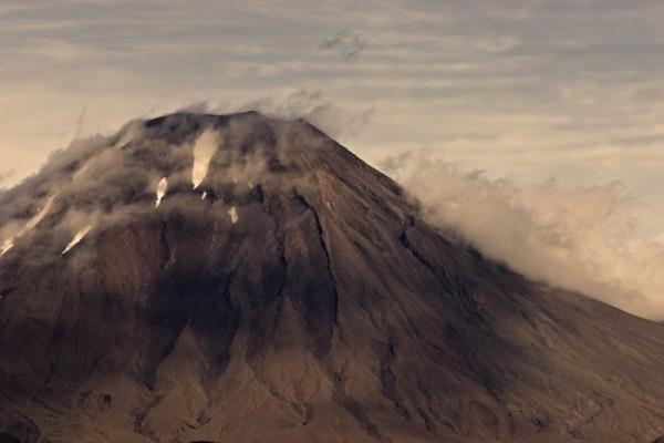Volcano cone closeup (Mount Doom)
