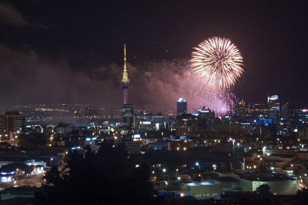 Fireworks for Auckland Day