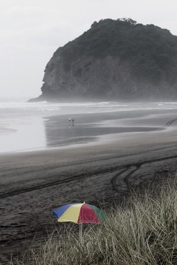 The lonely umbrella