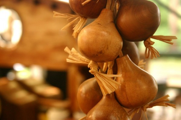 Wooden onions