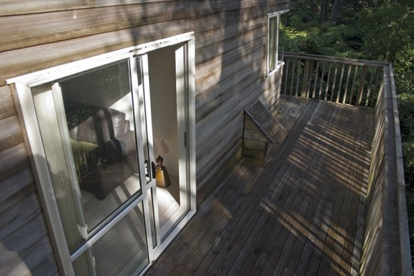 New home back deck