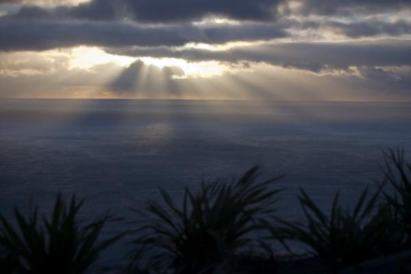 Sunrise on Mount Maunganui, Tauranga