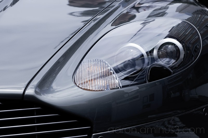 Aston Marton front grill and headlight