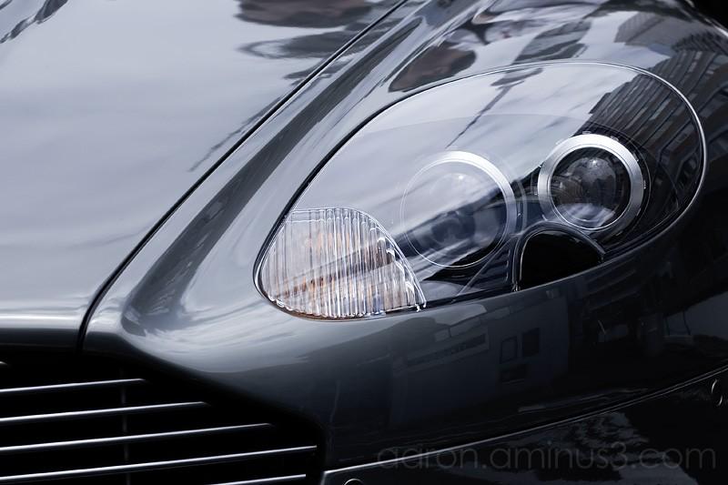 Aston Marton front grill and headlight