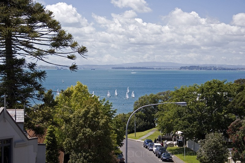 View of Takapuna, North Shore