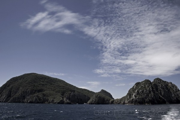 Islands on the sea