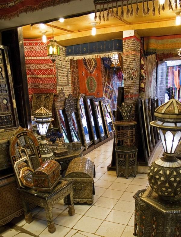 Inside artisan shop (Rabat)