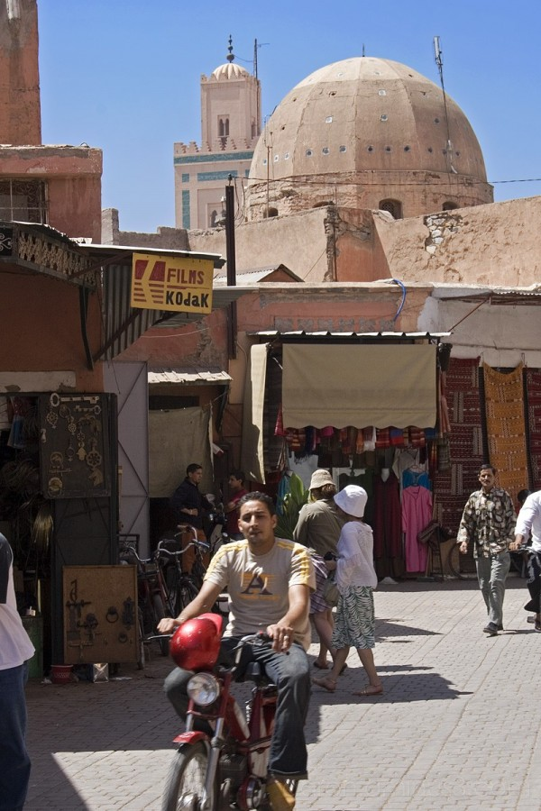 Streets of the Medina, Marrakech