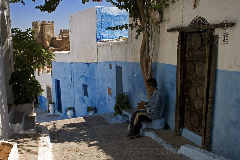 In the Fortress of Rabat