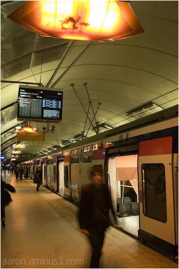 Gare de Saint Lazare, Paris