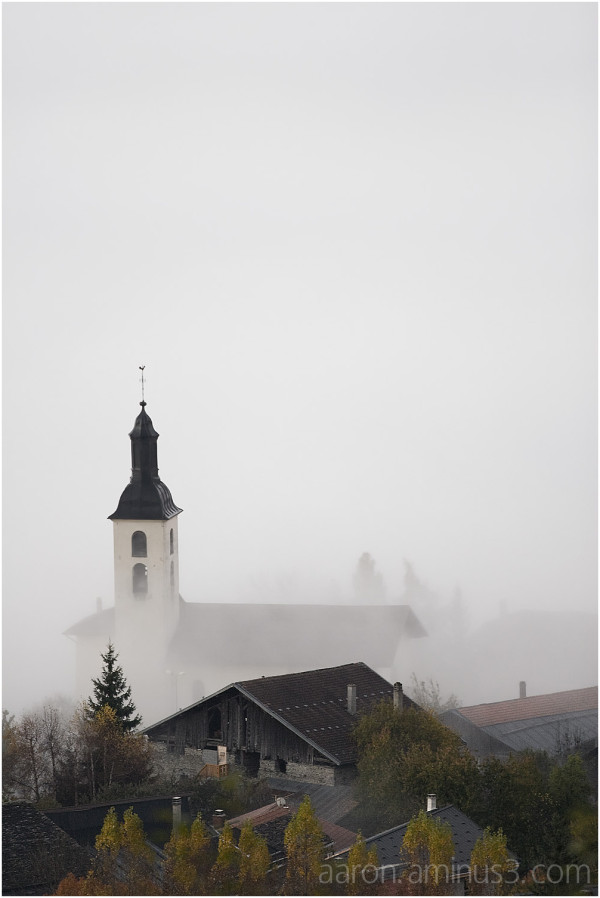 Church on white