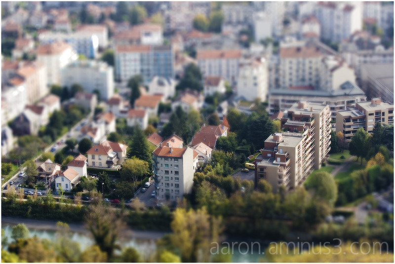 Grenoble in miniature