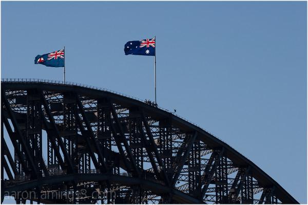 Sydney Harbour Bridge with tour