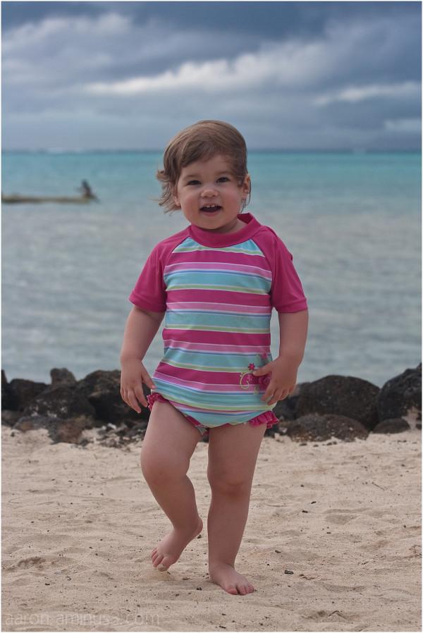 Solen on the beach