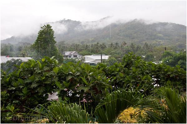 Rain in Samoa