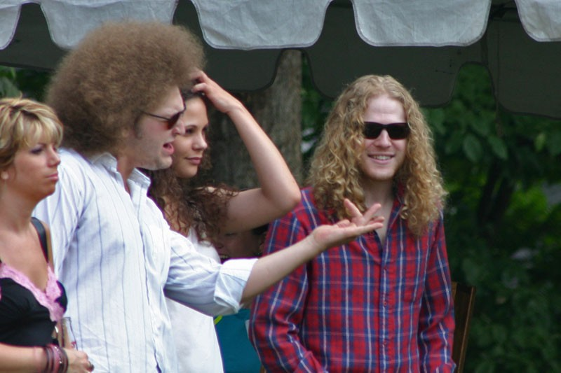 The Big Fro Guy Rocks Out