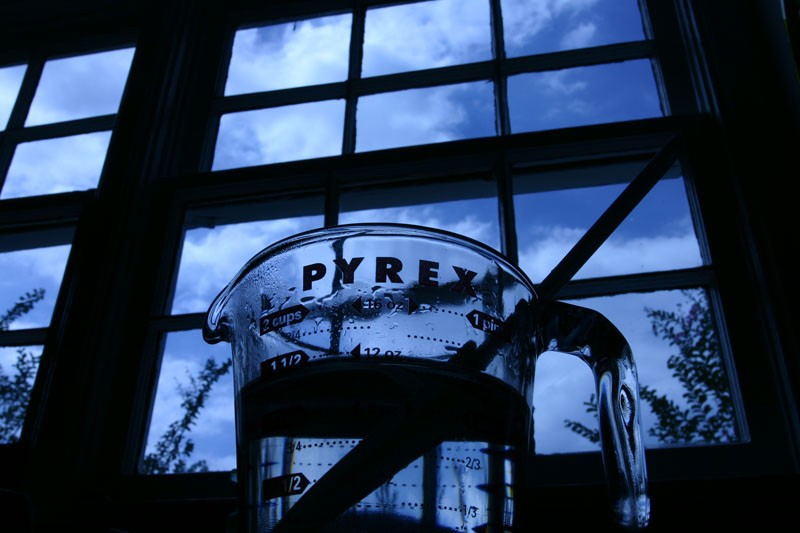 Sugar Water in Pyrex