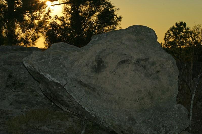 Down at Smiling Rock